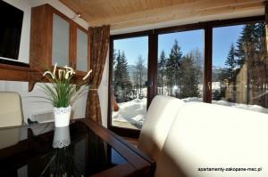 Apartment Cicha Woda Living Room